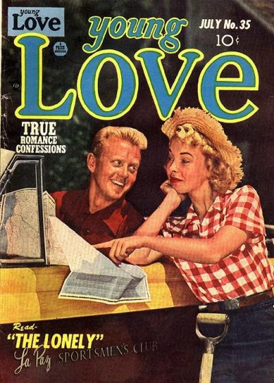 Cover for Young Love (Prize, 1949 series) #v4#5 (35)
