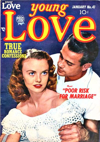 Cover for Young Love (Prize, 1949 series) #v4#11 (41)