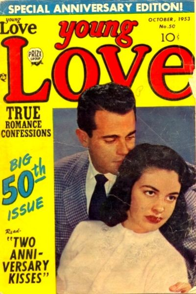 Cover for Young Love (Prize, 1949 series) #v5#8 (50)