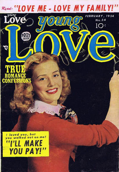 Cover for Young Love (Prize, 1949 series) #v5#12 (54)