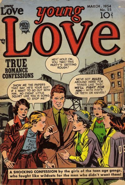 Cover for Young Love (Prize, 1949 series) #v6#1 (55)