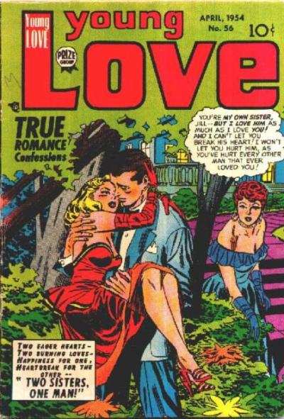 Cover for Young Love (Prize, 1949 series) #v6#2 (56)