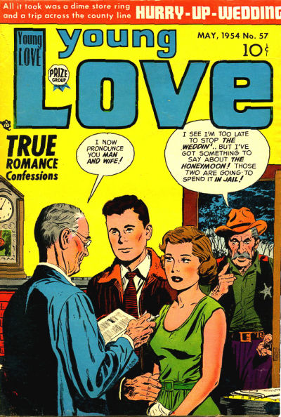 Cover for Young Love (Prize, 1949 series) #v6#3 (57)