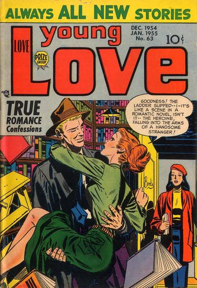Cover for Young Love (Prize, 1949 series) #v6#9 (63)