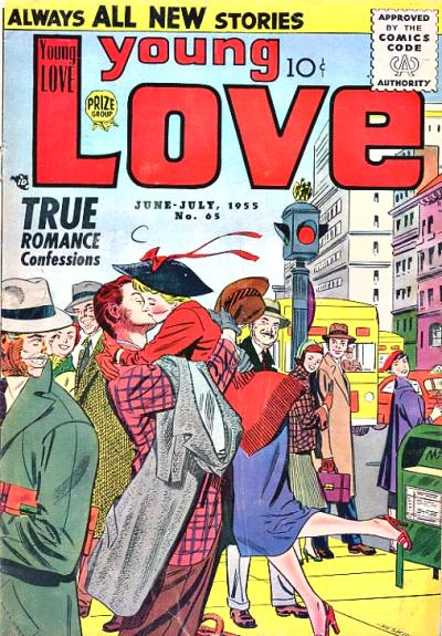 Cover for Young Love (Prize, 1949 series) #v6#11 (65)
