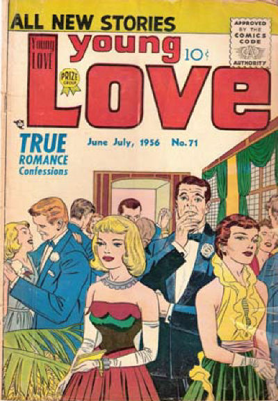 Cover for Young Love (Prize, 1949 series) #v7#5 (71)
