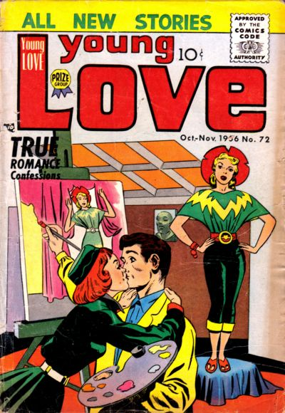 Cover for Young Love (Prize, 1949 series) #v7#6 (72)