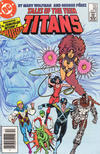 Cover for Tales of the Teen Titans (DC, 1984 series) #60 [Newsstand]