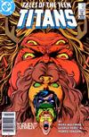 Cover Thumbnail for Tales of the Teen Titans (1984 series) #63 [Newsstand Variant]