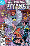 Cover for Tales of the Teen Titans (DC, 1984 series) #68 [Direct]