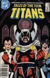 Cover Thumbnail for Tales of the Teen Titans (1984 series) #89 [Newsstand Variant]