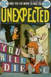 Cover for The Unexpected (DC, 1968 series) #148