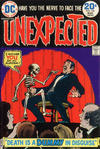 Cover for The Unexpected (DC, 1968 series) #156