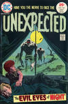 Cover for The Unexpected (DC, 1968 series) #166