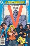 Cover for V (DC, 1985 series) #1 [Newsstand]