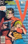 Cover for V (DC, 1985 series) #2 [Newsstand]
