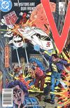 Cover for V (DC, 1985 series) #3 [Newsstand]