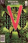 Cover for V (DC, 1985 series) #6 [Newsstand]