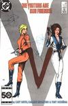 Cover for V (DC, 1985 series) #10 [Direct]