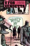 Cover for V for Vendetta (DC, 1988 series) #5