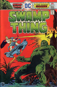 Cover Thumbnail for Swamp Thing (DC, 1972 series) #21