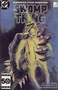 Cover Thumbnail for Swamp Thing (DC, 1985 series) #41 [Direct]
