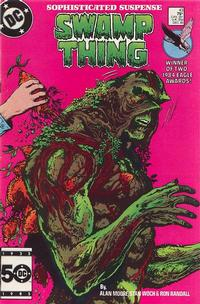 Cover Thumbnail for Swamp Thing (DC, 1985 series) #43 [Direct]
