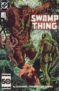 Cover Thumbnail for Swamp Thing (DC, 1985 series) #47 [Direct]