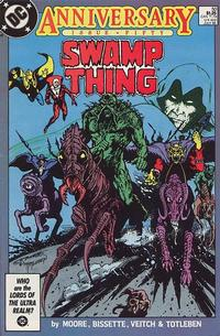 Cover Thumbnail for Swamp Thing (DC, 1985 series) #50 [Direct]