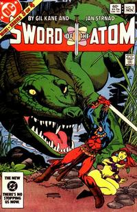 Cover Thumbnail for Sword of the Atom (DC, 1983 series) #3 [Direct]