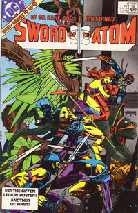 Cover Thumbnail for Sword of the Atom (DC, 1983 series) #4 [Direct]
