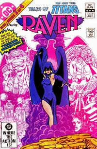 Cover Thumbnail for Tales of the New Teen Titans (DC, 1982 series) #2 [Direct Sales]