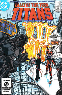 Cover Thumbnail for Tales of the Teen Titans (DC, 1984 series) #41 [Direct]