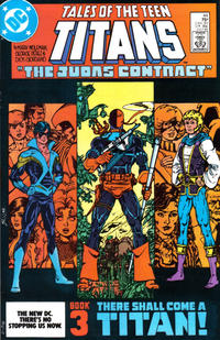 Cover Thumbnail for Tales of the Teen Titans (DC, 1984 series) #44 [direct-sales]