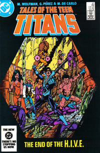 Cover Thumbnail for Tales of the Teen Titans (DC, 1984 series) #47 [Direct]