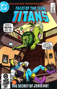 Cover Thumbnail for Tales of the Teen Titans (DC, 1984 series) #51 [Direct Sales]