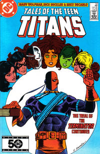 Cover Thumbnail for Tales of the Teen Titans (DC, 1984 series) #54 [Direct Sales]