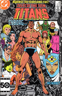 Cover Thumbnail for Tales of the Teen Titans (DC, 1984 series) #57 [Direct Sales]