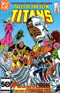 Cover Thumbnail for Tales of the Teen Titans (DC, 1984 series) #58 [Direct Sales]