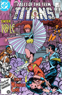 Cover Thumbnail for Tales of the Teen Titans (DC, 1984 series) #68 [Direct]