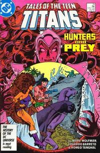 Cover Thumbnail for Tales of the Teen Titans (DC, 1984 series) #74