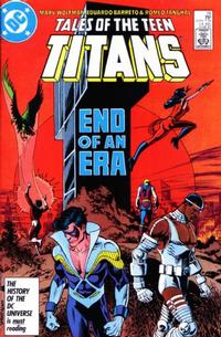 Cover Thumbnail for Tales of the Teen Titans (DC, 1984 series) #78 [Direct Sales]