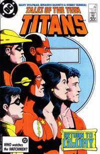 Cover Thumbnail for Tales of the Teen Titans (DC, 1984 series) #79 [Direct Sales]
