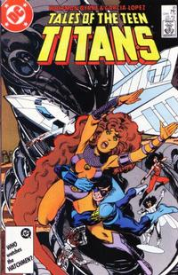 Cover Thumbnail for Tales of the Teen Titans (DC, 1984 series) #81 [Direct]