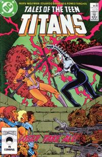 Cover Thumbnail for Tales of the Teen Titans (DC, 1984 series) #83 [Direct Sales]