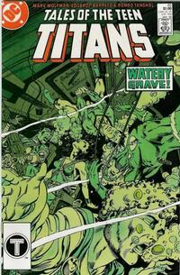 Cover Thumbnail for Tales of the Teen Titans (DC, 1984 series) #85 [Direct]