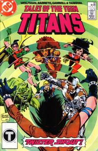 Cover Thumbnail for Tales of the Teen Titans (DC, 1984 series) #86 [Direct]