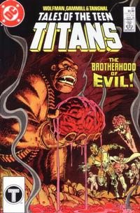 Cover Thumbnail for Tales of the Teen Titans (DC, 1984 series) #87 [Direct]