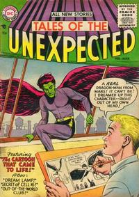 Cover for Tales of the Unexpected (DC, 1956 series) #1