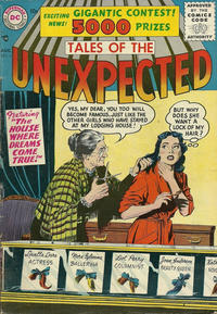 Cover Thumbnail for Tales of the Unexpected (DC, 1956 series) #4